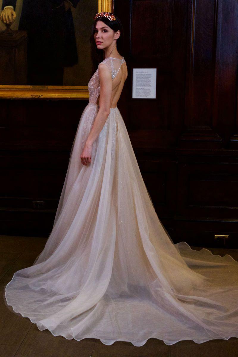 Elegante Berta Herbst/Winter 2018 Hochzeit  Kleid