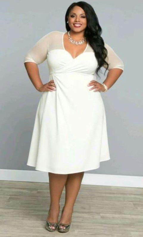 Elegante Kleider Zur Hochzeit Große Größen  Damenmode