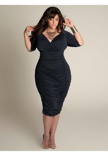 Elegante Mode Für Mollige Damen