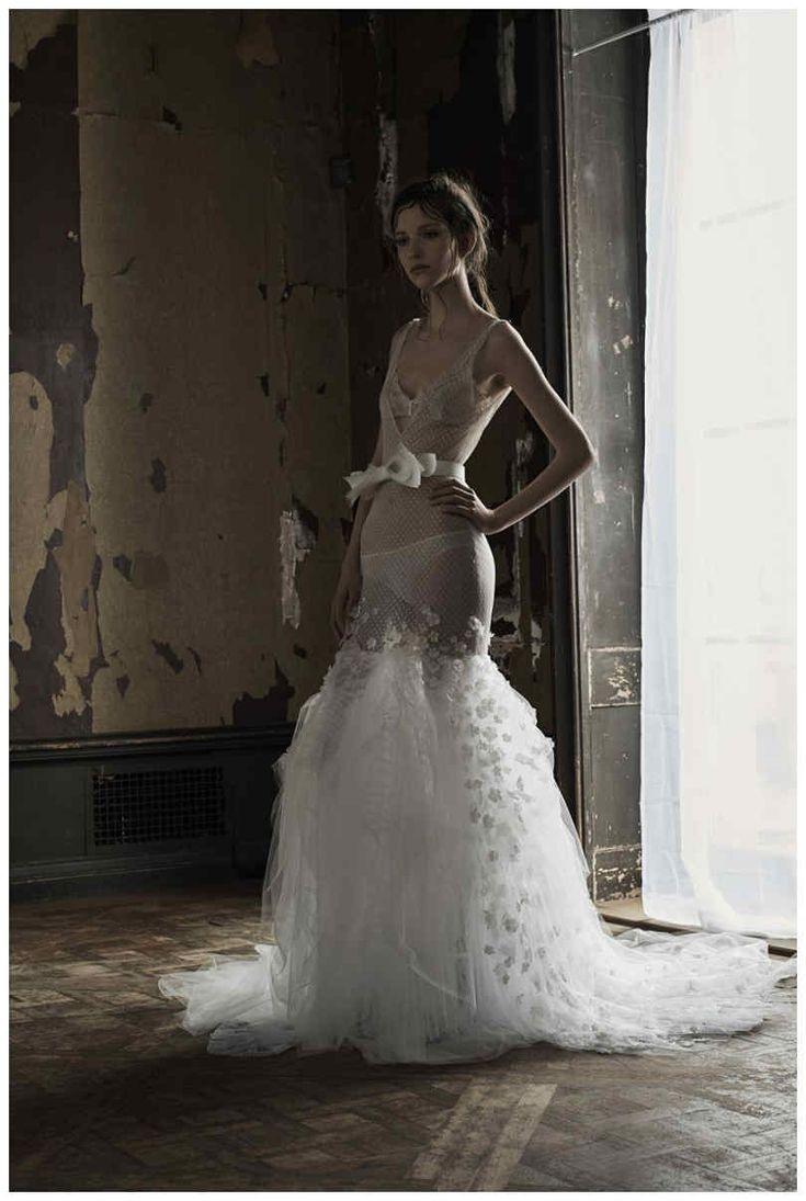Elegante Vera Wang Braut Frühling 2018 — Modekreativ