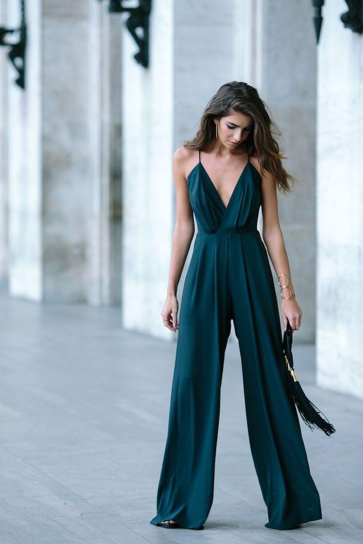 Eleganter Overall Für Ein Hochzeitsgastoutfit  Kleider