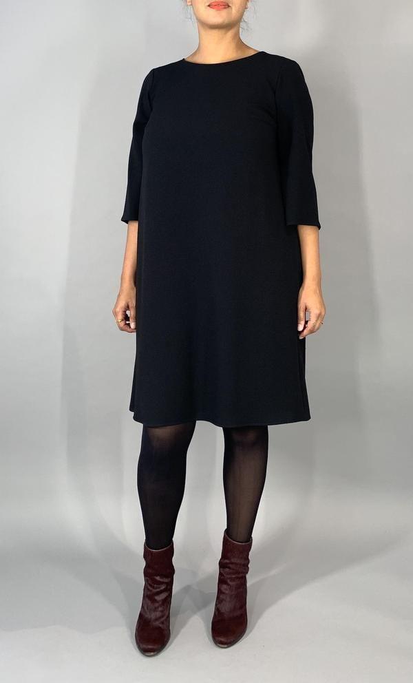 Elegantes Ausgestelltes Kleid  Schwarz In 2020