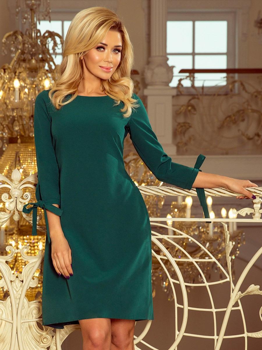 Elegantes Damen Kleid Alice 1951 Smaragdgrün