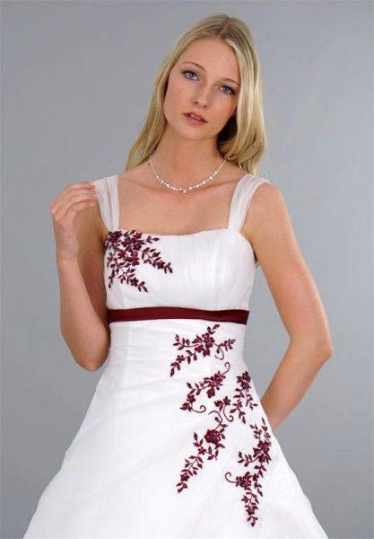 Elegantes Hochzeitskleid Für Eine Braut Die Eine Hochzeit
