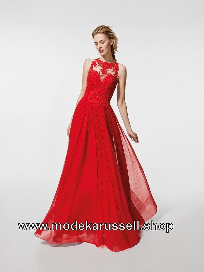 Elegantes Kleid Abendkleid 2018 In Rot  Neue Auswahl