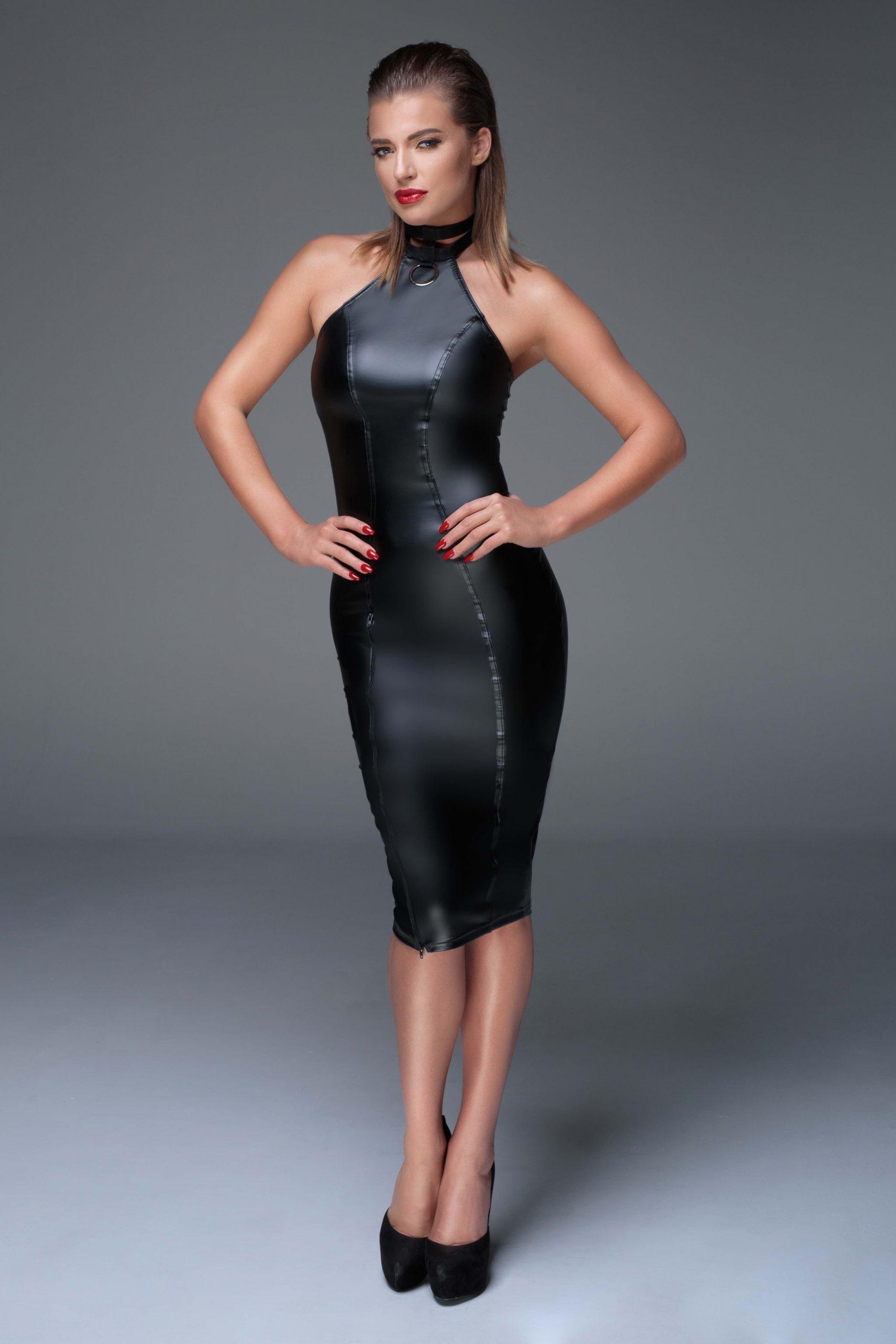 Elegantes Kleid Noir Handmade