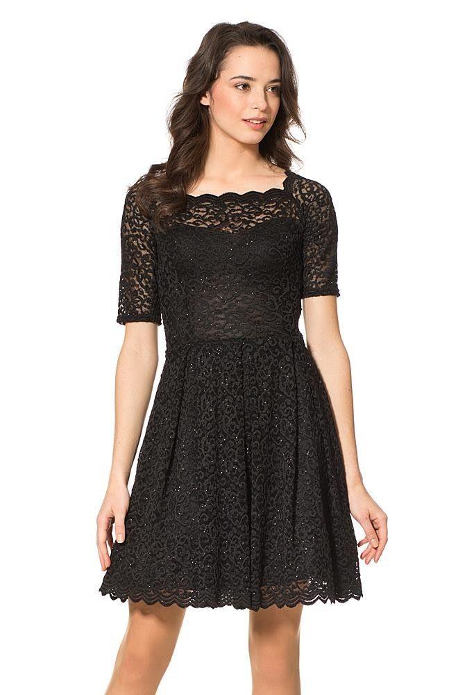 Elegantes Spitzenkleid  Kleider  Collection  Kleider