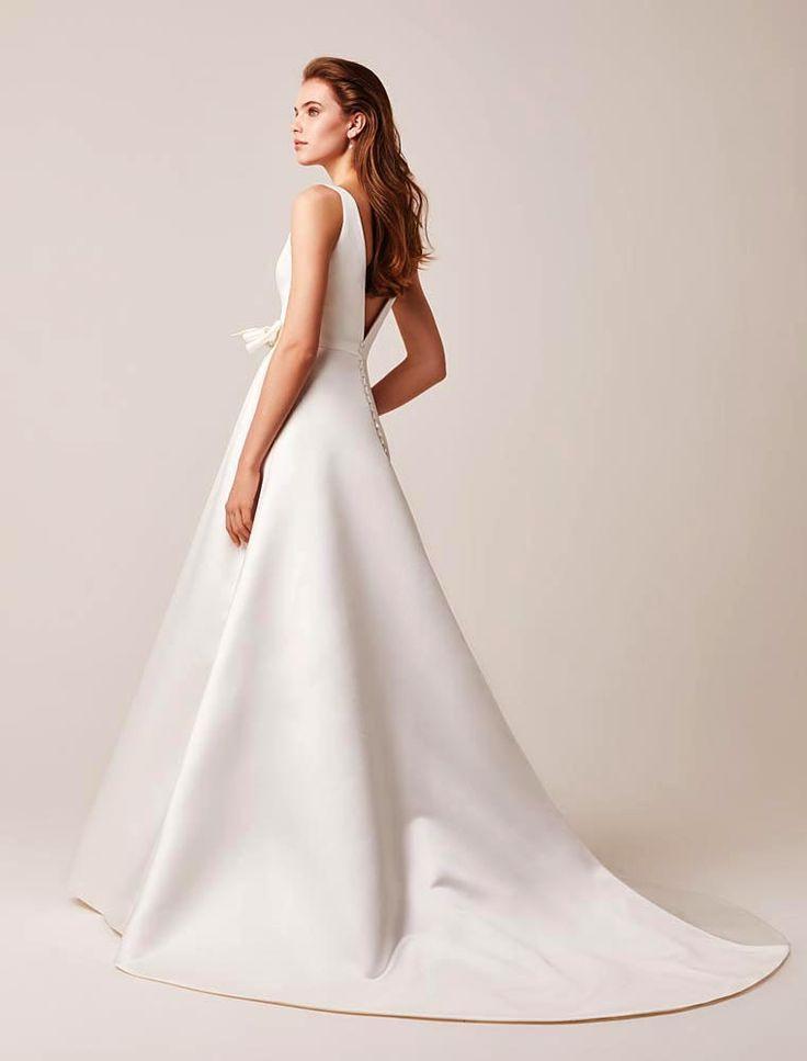 Elegantstilvollladonna  Modernes Hochzeitskleid Kleid