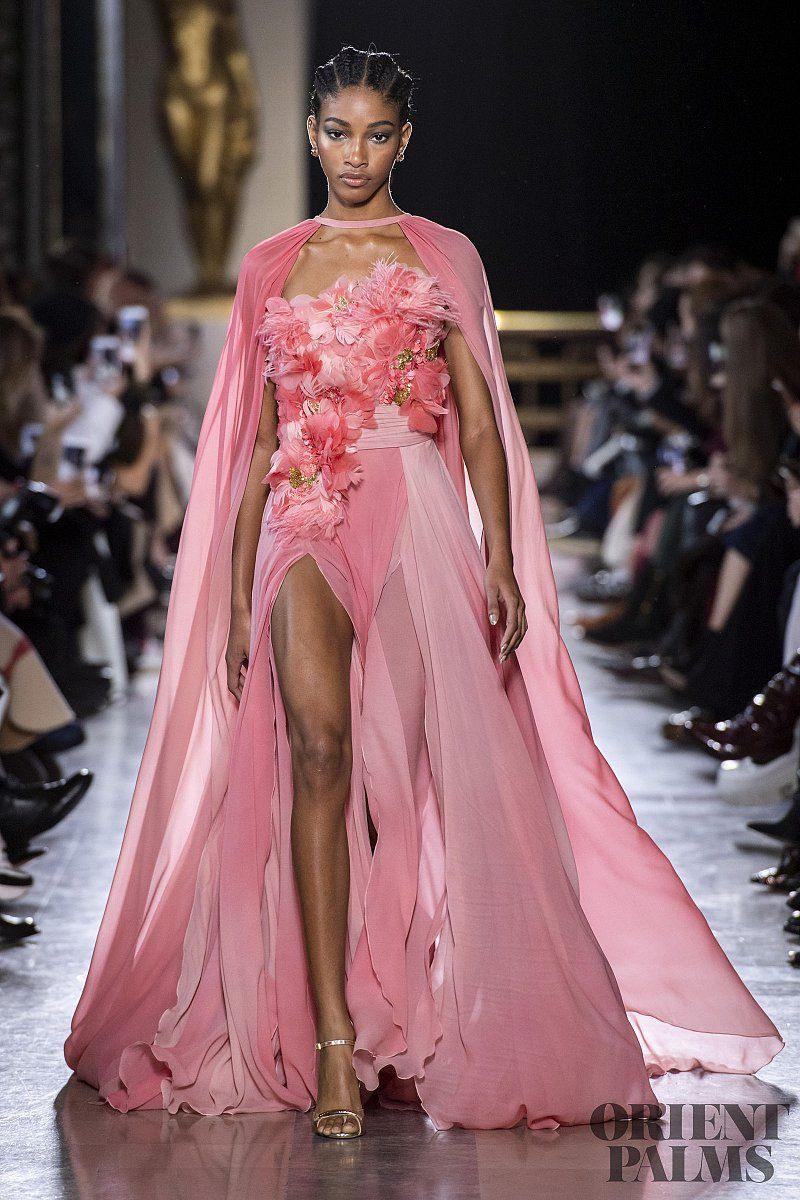 Elie Saab Frühjahr/Sommer 2019  Couture  Couture Kleider