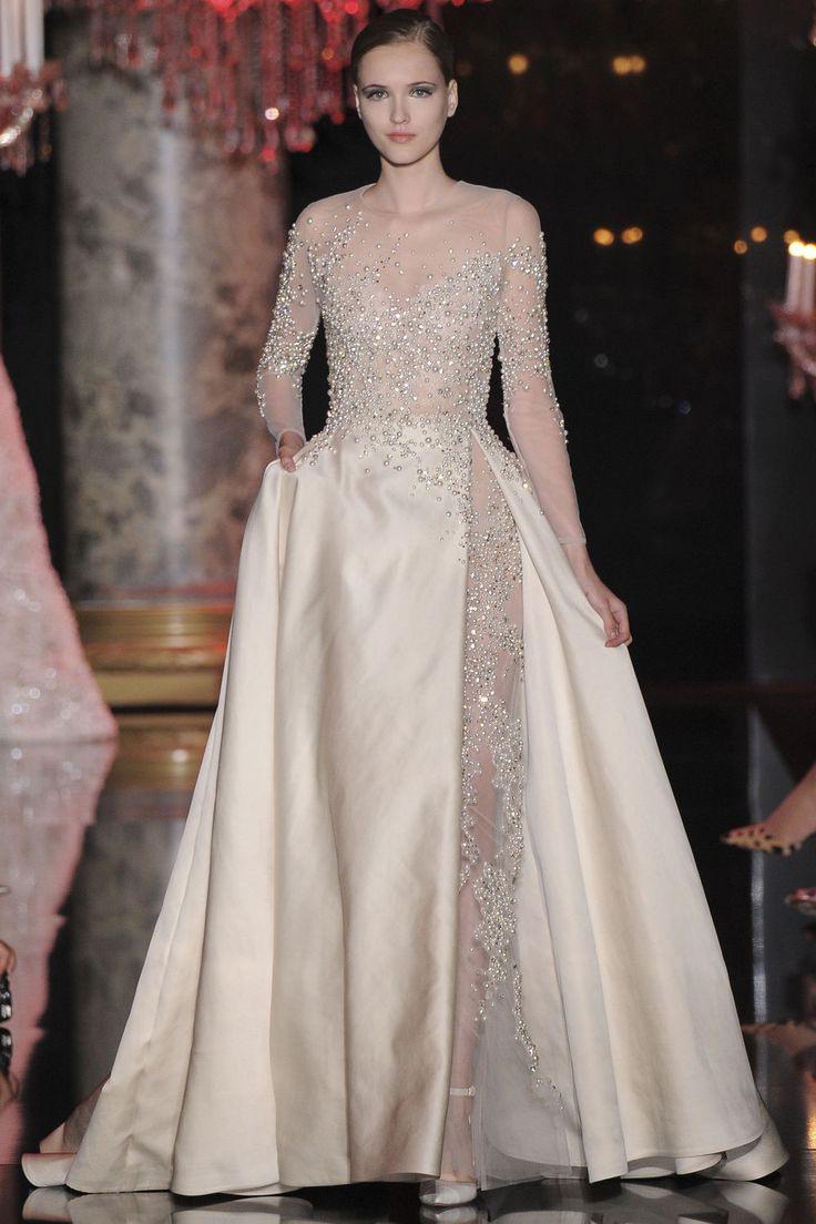 Elie Saab Haute Couture Paris Herbst/Wintermode 2014