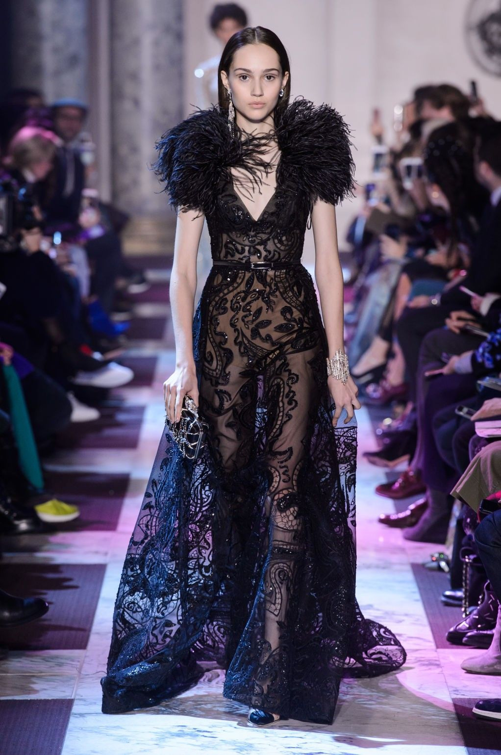 Elie Saab's Spring 2018 Couture Collection  Fantasie