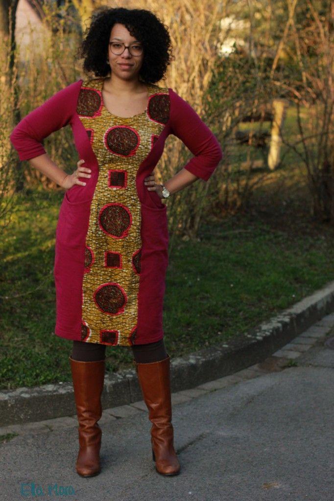 Ellamaraschneckenkleid6  Afrikanische Kleidung