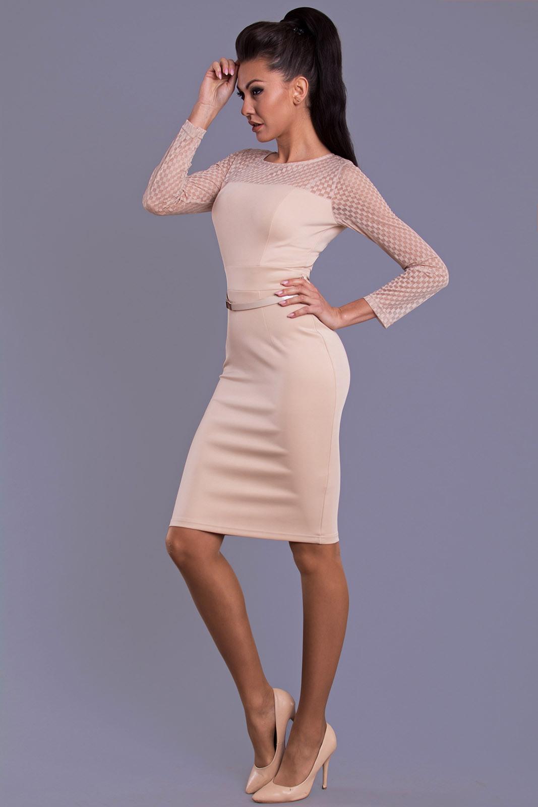 Emamoda Dress  Cream 78031