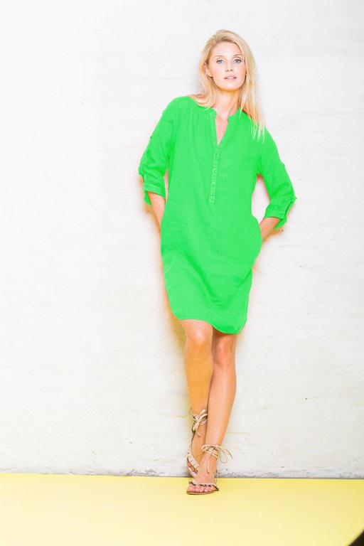 Emily Van Den Bergh Kleid Grün  Dakabukushop