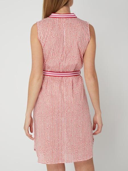 Emily Van Den Bergh Kleid Mit Taillengürtel In Rot Online