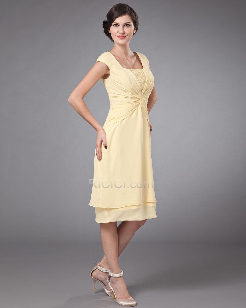 Empire Brautmutter Hochzeitsgästekleider Für Festliche