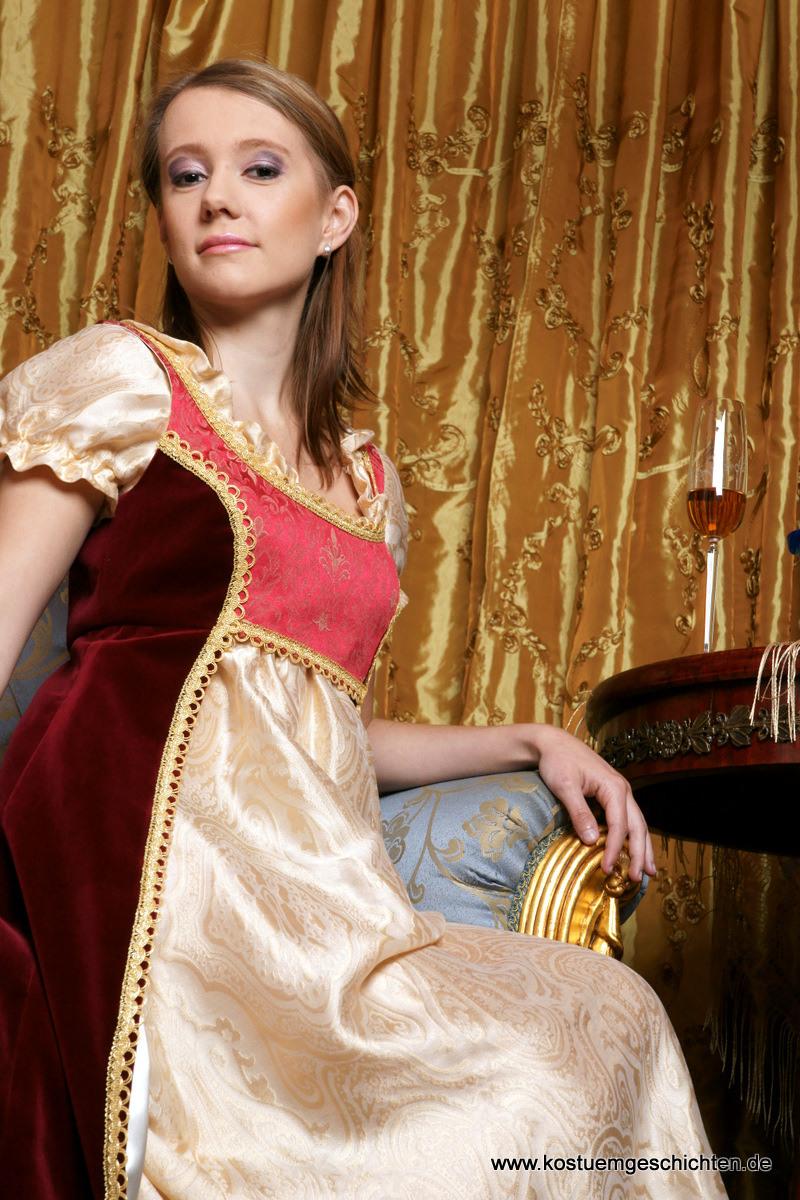 Empirekleid  Rokoko Barock Und Piraten Kostüme