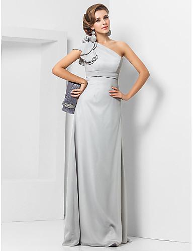 Eng Anliegend Elegant Grau Hochzeitsgast Formeller Abend