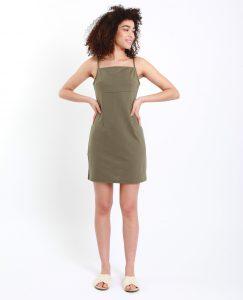 Eng Anliegendes Kleid Grün  781272506A05  Pimkie