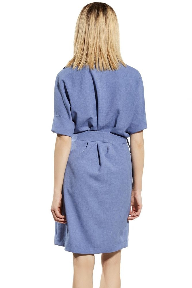 Ennywear 230050 Kleid Dame Blusenkleid Hemdkleid 3/4Arm