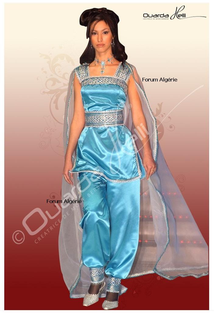 Épinglé Sur Traditional Algerian Costumes اللباس الجزائري