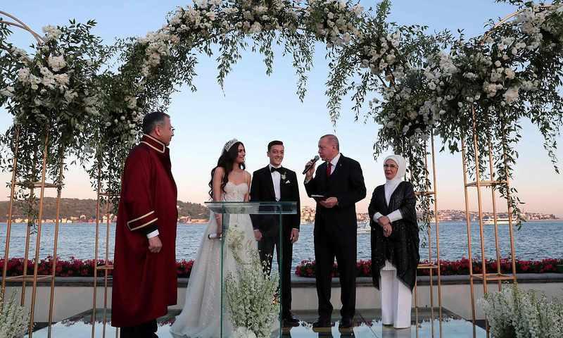 Erdogan War Bei Özils Hochzeit Trauzeuge  Diepresse
