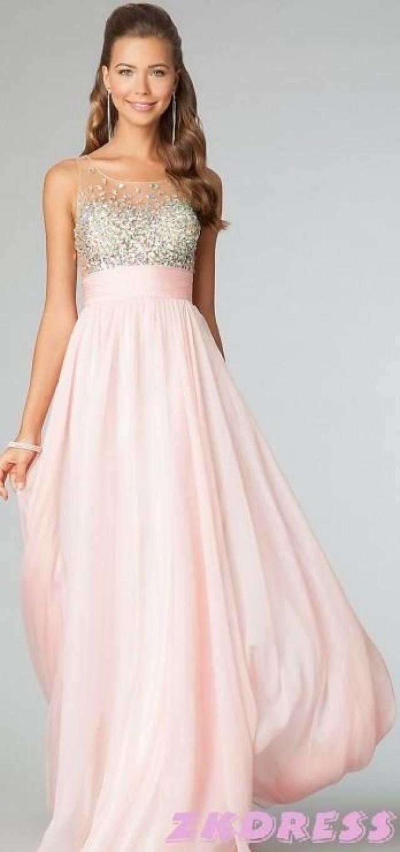 Erstaunlich Rosa Kleid Für Hochzeit Stylish  Abendkleid