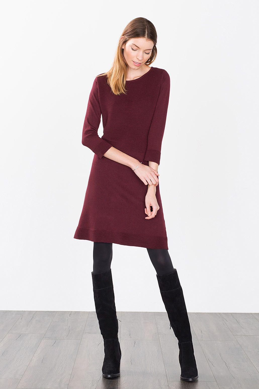 Esprit / Aline Knit Dress  Kleider Damen Kleider