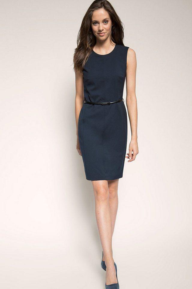 Esprit Collection Basic Businesskleid Mit Stretch Und