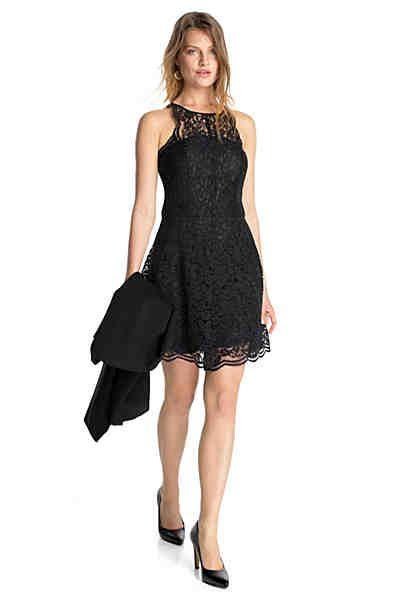 Esprit Collection Edles Partykleid Aus Spitze  Kleider