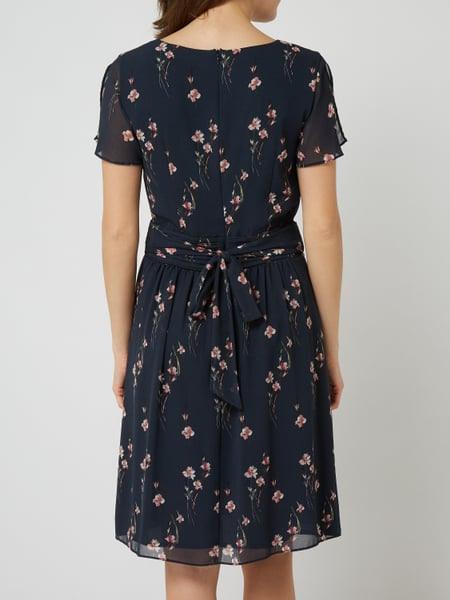 Esprit Collection Kleid Aus Chiffon Mit Floralem Muster In