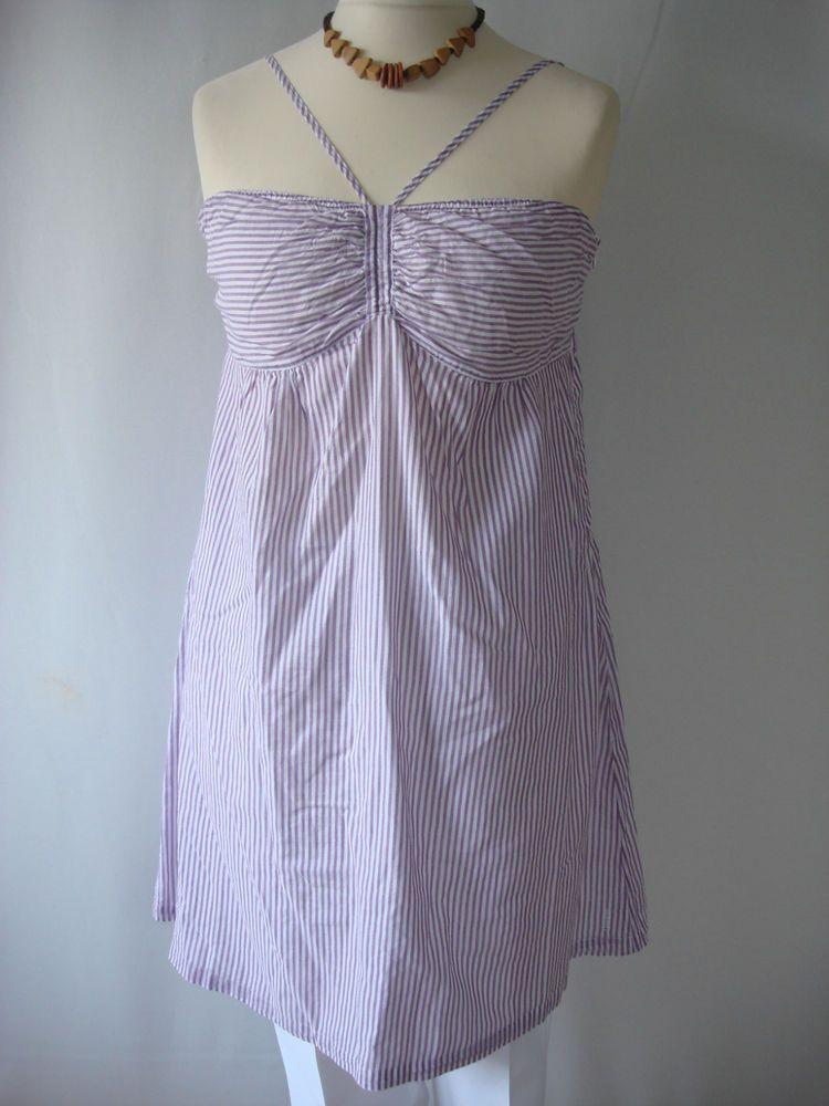 Esprit Damen Kleid Sommerkleid Shirtkleid Baumwolle