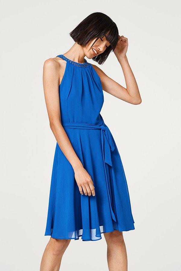 Esprit Dress Blue Festive  Kleider Abendkleider