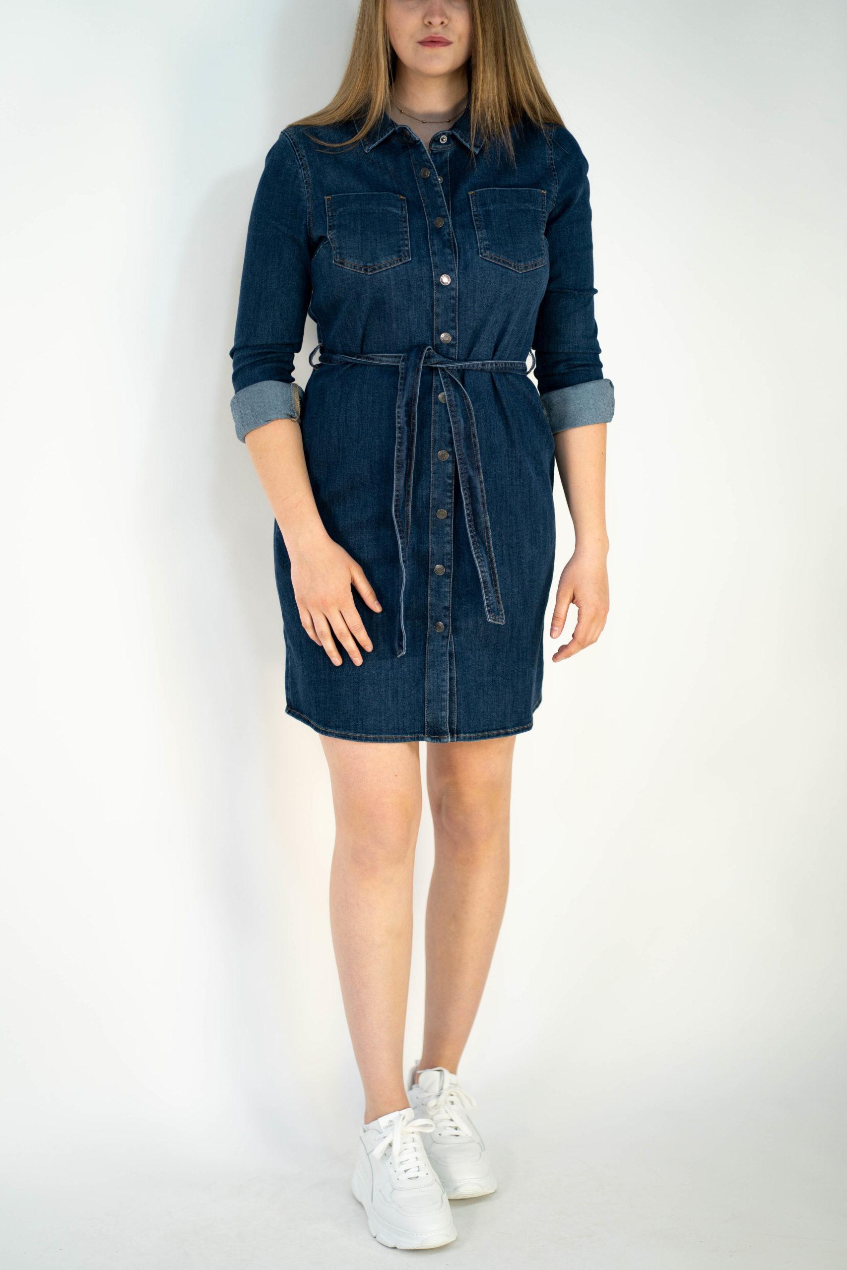 Esprit Hemdblusen Jeanskleid In Denim  Steingrube Mode