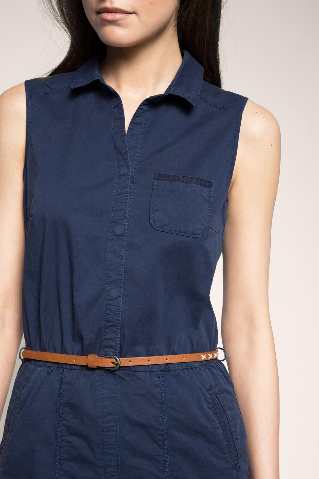 Esprit  Hemdblusenkleid Aus Baumwolle/Stretch Im Online