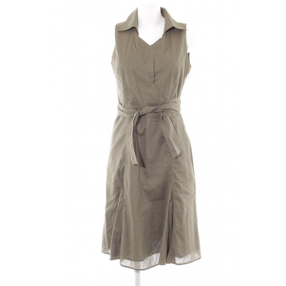 Esprit Hemdblusenkleid Khaki Casuallook Damen Gr De 38
