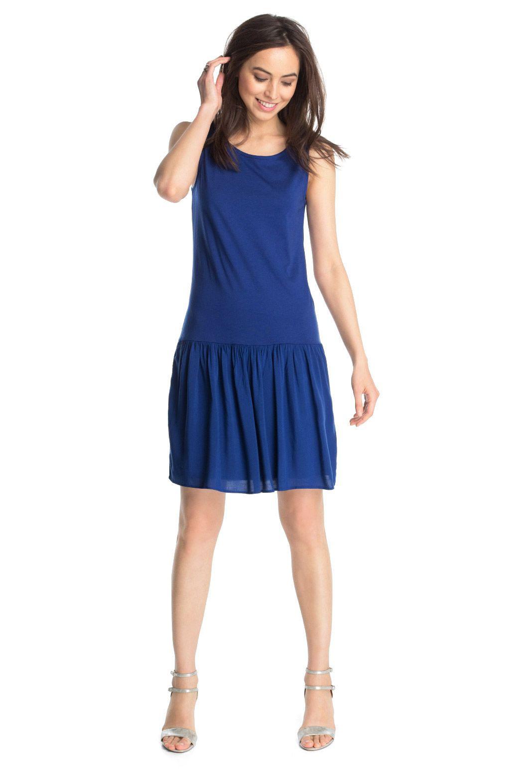 Esprit  Kleid Aus Luftigem Materialmix Im Online Shop