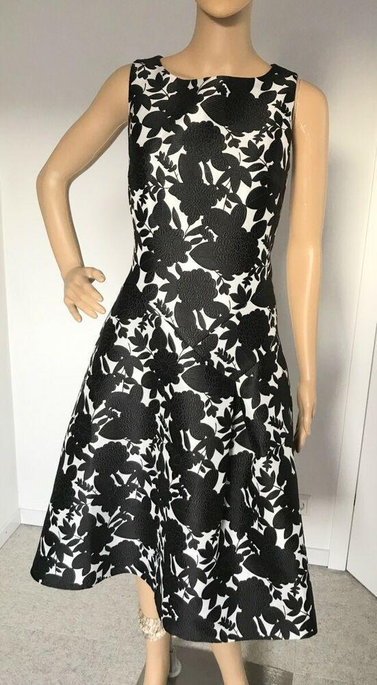Esprit Kleid Midi Jacquard Gr 36 Neu Damen Kleider