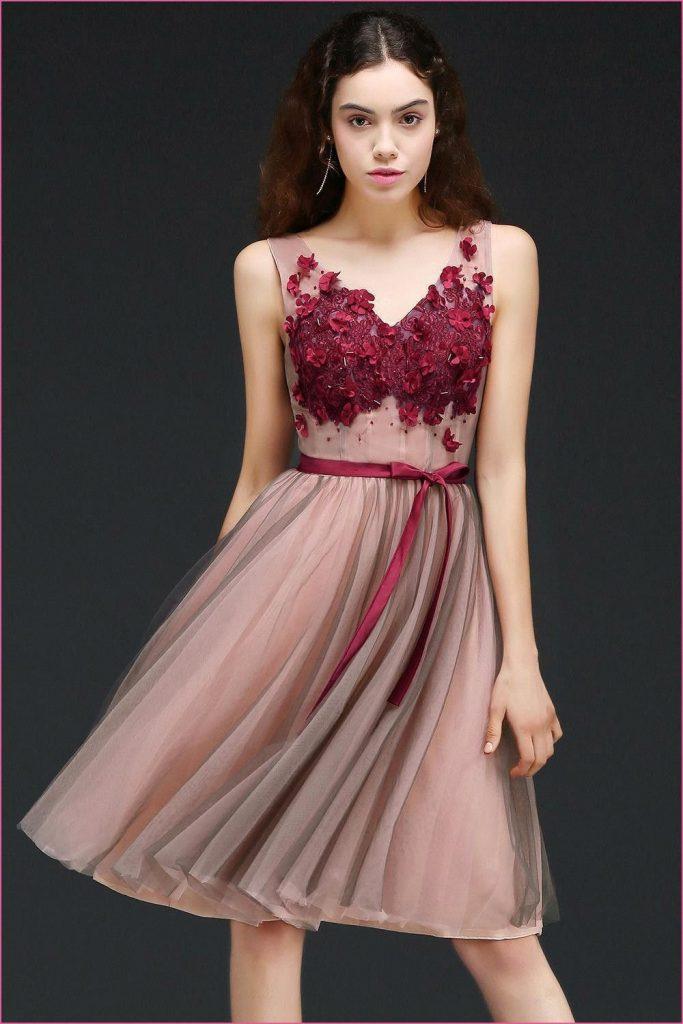 Esprit Rotes Kleid  Homecoming Kleider Rotes Kleid