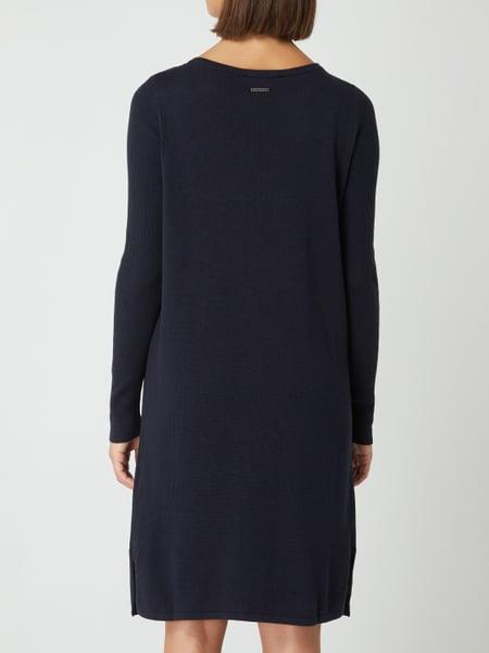 Esprit Strickkleid Mit Biobaumwolle In Blau / Türkis