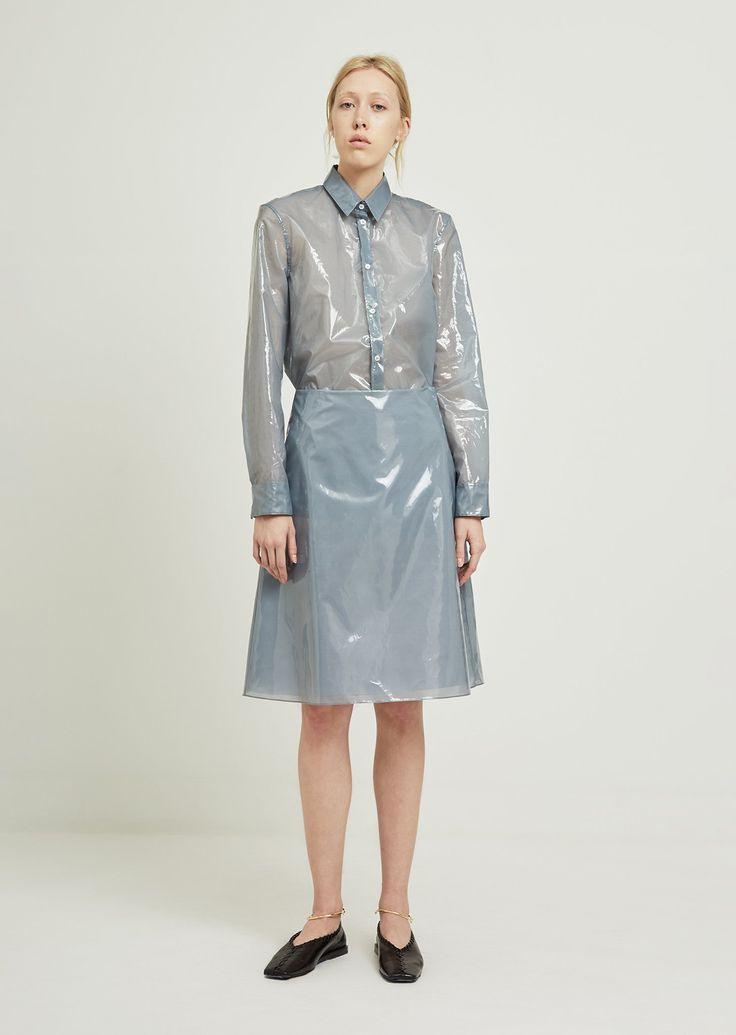 Essere Skirt  De 34 / Light Blue  Kleidung Durchsichtig