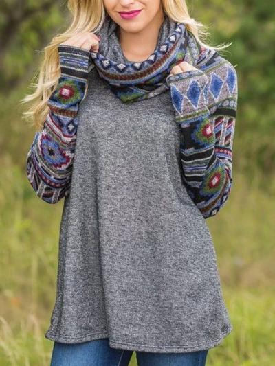 Ethnisch  Modetalente  Blouses For Women Casual Tops