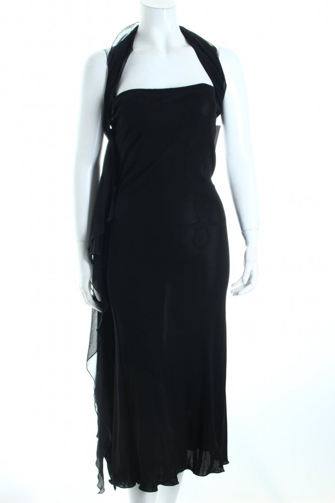 Etro Trägerkleid Schwarz Klassischer Stil Damen Gr De 36