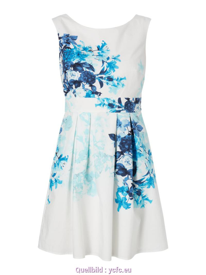 Fabelhaft Esprit Sommerkleid Blumen Kleid Esprit