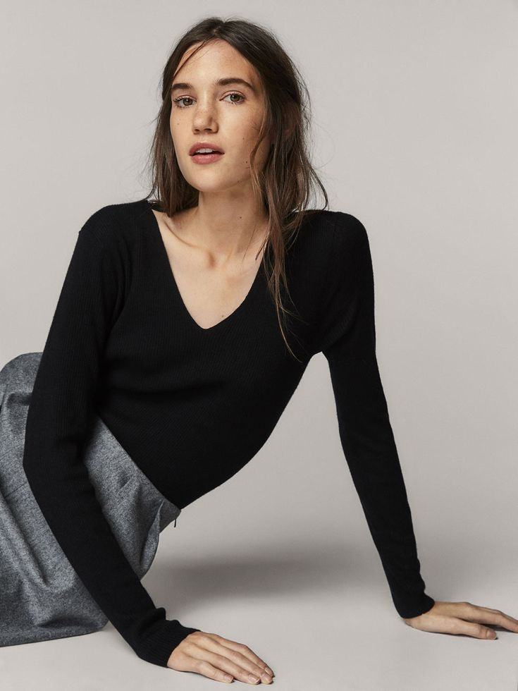 Fall Winter 2017 Women´s Wool Dress With Side Cableknit