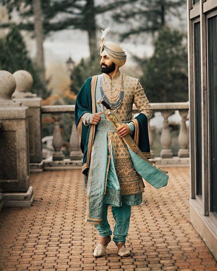 Fashion For Groom  Mode Für Männer Indische Kleidung