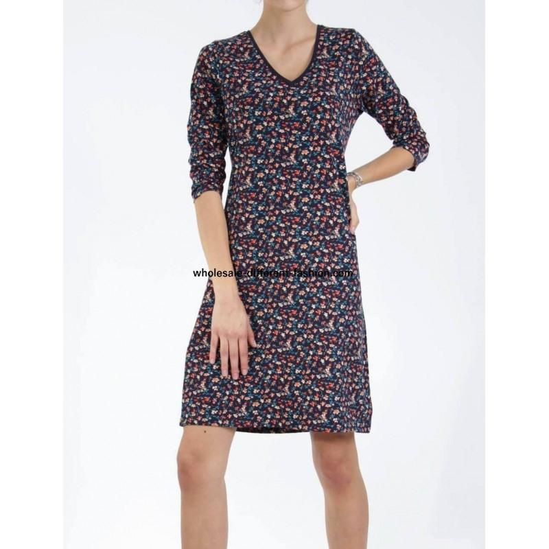 Fashion Großhandelmode Weiterverkauf Kleid Drucken