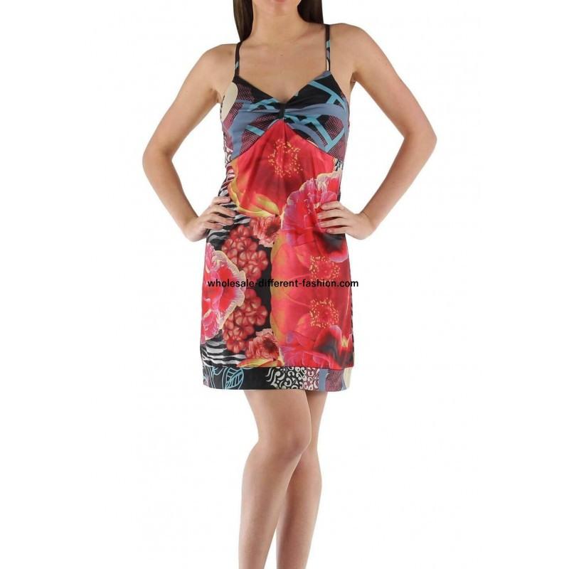 Fashion Großhandelmode Weiterverkauf Tunika Kleid Sommer