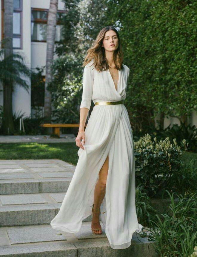 Fashion  Kleider Hochzeit Standesamtliche Trauung Kleid
