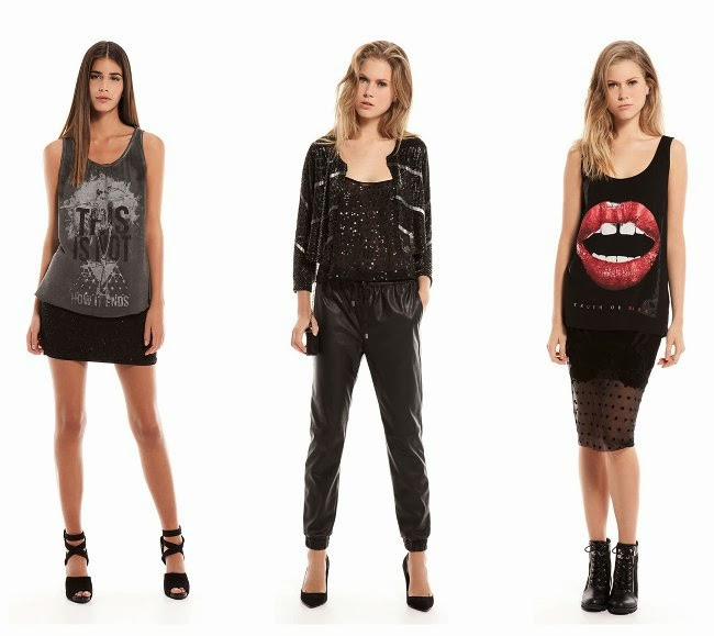 Fashioncollectiontrend 2014 2015 Bershka Kleid Modelle
